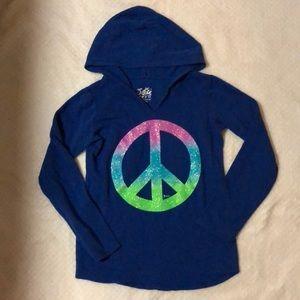 Other - Girls peace sign sweatshirt